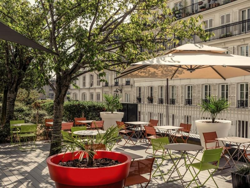 Mercure Montmartre Sacre CoeurTerasse