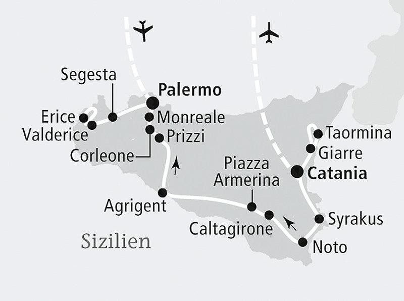 Das idyllische Sizilien