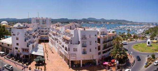 Apartamentos Central Park in Sant Antoni de Portmany, Ibiza A