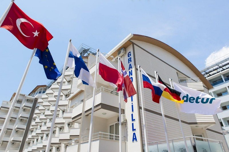 Grand Atilla Hotel in Alanya, Türkische Riviera