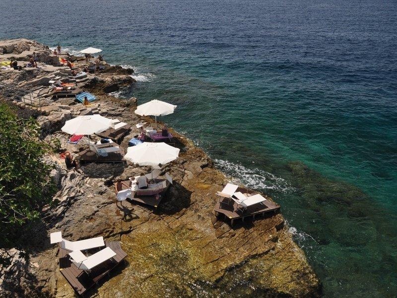 Horizont Golden Rocks Resort in Pula, Istrien S