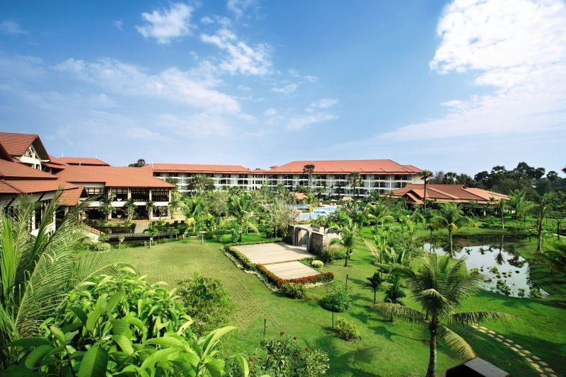 Angkor Palace Resort und Spa in Siem Reap, Kambodscha A