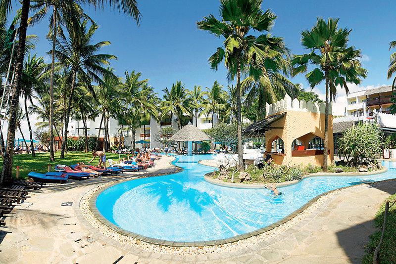 Bamburi Beach Hotel in Bamburi Beach, Kenia - Küste