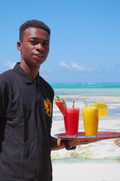 Mbuyuni Beach Village in Jambiani, Tansania - Insel Zanzibar R