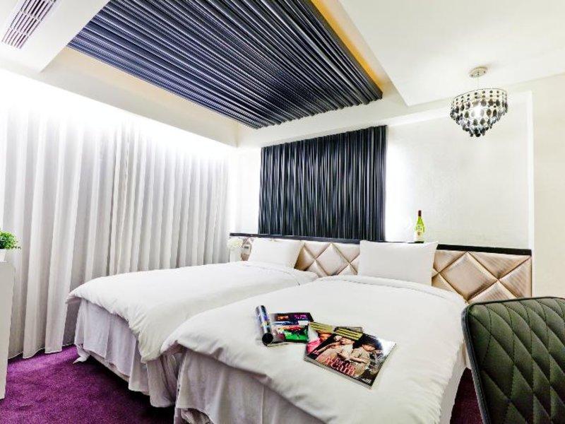 The Longstay Hotel in Taipeh, Taiwan W