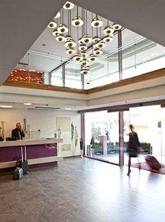 Hotel Novus City Hotel Lounge/Empfang