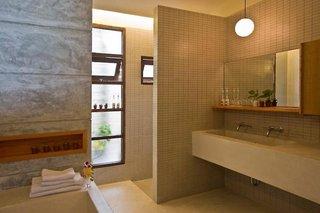Hotel Baan Talay Resort Badezimmer