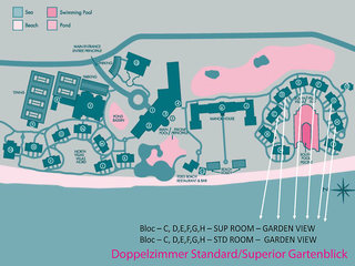 Hotel Sugar Beach A Sun Resort Mauritius Landkarte