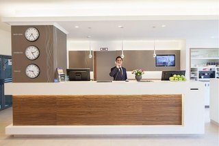 Hotel Apartment-Hotel Hamburg Mitte Lounge/Empfang