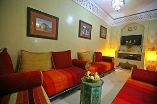 Hotel Riad Ain Lounge/Empfang