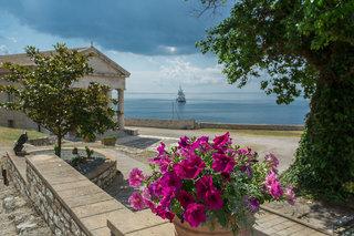 Hotel Corfu Palace Stadtansicht