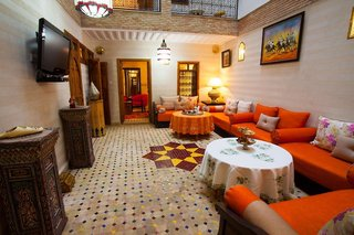 Hotel Dar Ikalimo Lounge/Empfang