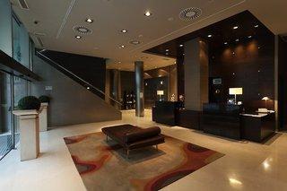 Hotel Conqueridor Lounge/Empfang