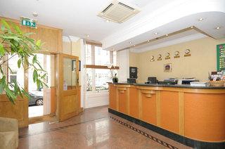 Hotel Best Western Corona Lounge/Empfang