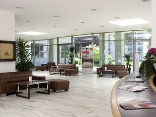 Hotel Eventhotel Pyramide Lounge/Empfang