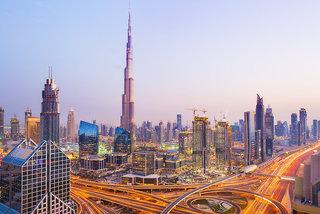 Hotel Hilton Dubai Al Habtoor City Stadtansicht