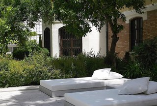Hotel Hospes Palacio de Los Patos Terasse