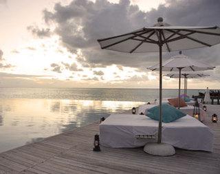 Hotel Anantara Dhigu Resort & Spa Terasse