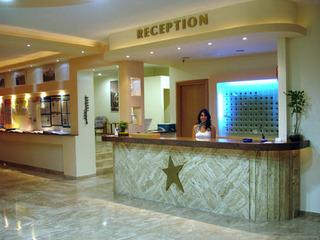 Hotel Tigaki´s Star Lounge/Empfang