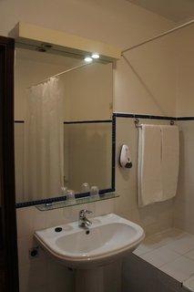 Hotel Residencial Amparo Badezimmer