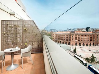 Hotel ibis Madrid Centro Las Ventas Terasse