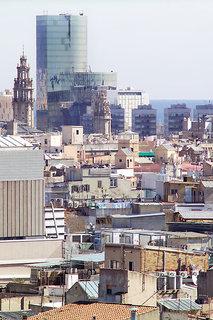 Hotel Barcelo Raval Stadtansicht