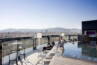 Hotel Barcelo Raval Terasse