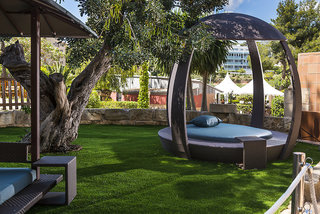 Hotel Salles Marina Portals Garten