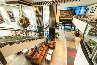 Hotel Pinnacle Lumpinee Park Lounge/Empfang