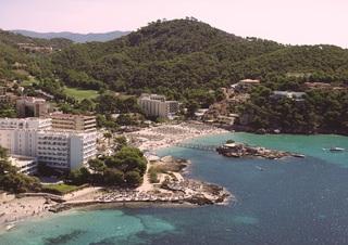 Hotel ROC Gran Camp de Mar Luftaufnahme