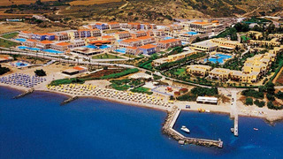 Hotel Atlantica Club Porto Bello Beach Luftaufnahme