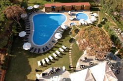 Hotel Aqua Pedra Dos Bicos - Erwachsenenhotel Luftaufnahme