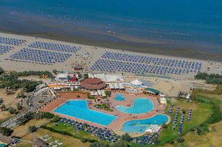 Hotel Albarella Resort Luftaufnahme