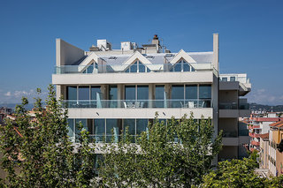 Hotel Cristallo Riccione Außenaufnahme