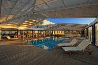 Hotel Aphrodite Beach Club Hallenbad