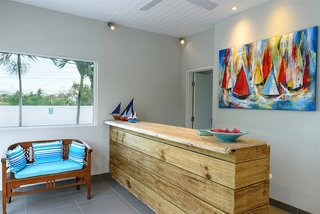 Hotel Voile Bleue Lounge/Empfang