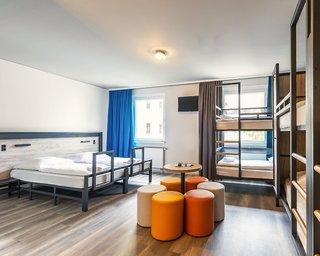 Hotel a&o Berlin Hauptbahnhof Wohnbeispiel
