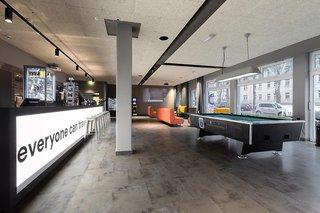 Hotel a&o Berlin Hauptbahnhof Lounge/Empfang