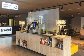 Hotel a&o Stuttgart City Lounge/Empfang