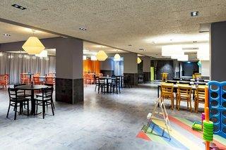Hotel a&o Stuttgart City Frühstücksraum