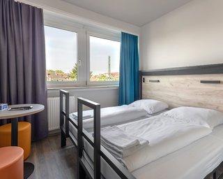 Hotel a&o Frankfurt Galluswarte Hotel & Hostel Wohnbeispiel
