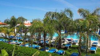 Hotel Kyknos Beach Hotel & Bungalows Garten