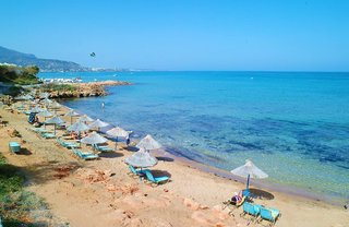 Hotel Kyknos Beach Hotel & Bungalows Strand