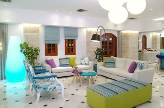Hotel Kyknos Beach Hotel & Bungalows Lounge/Empfang
