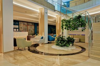 Hotel MiRaBelle Lounge/Empfang