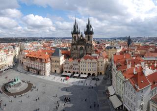 Hotel Central Hotel Prague Stadtansicht