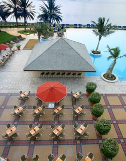 Hotel Beach Rotana Abu Dhabi Terasse