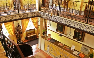 Hotel Charming Residence Dom Manuel I - Haupthaus Lounge/Empfang