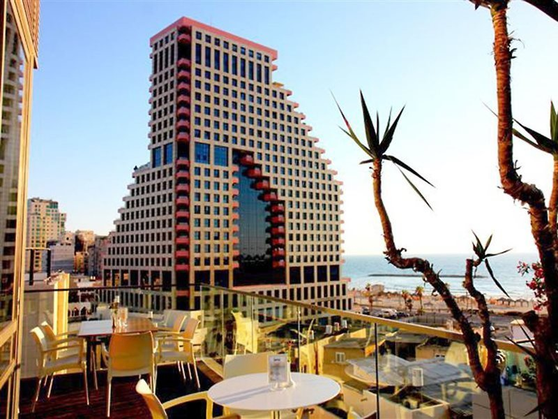 Stadt und Strand in Tel Aviv 3 Sterne Hotel Gilgal