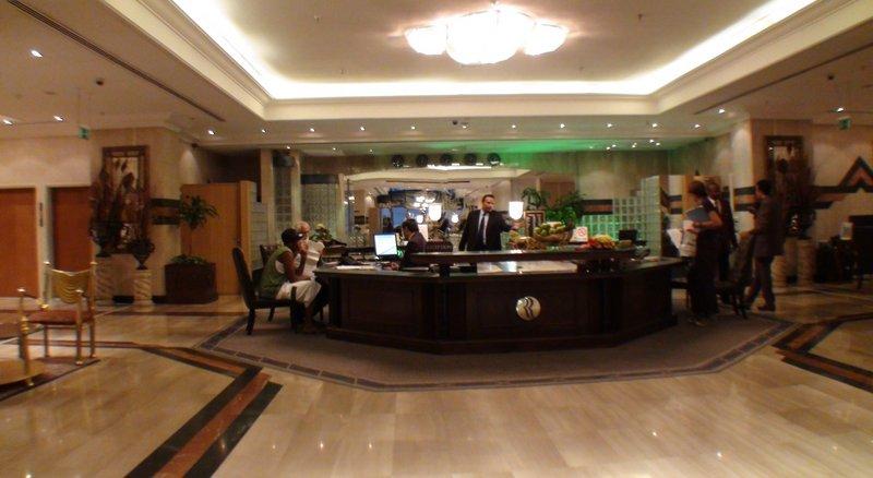 Abjad Grand Hotel  Lounge/Empfang
